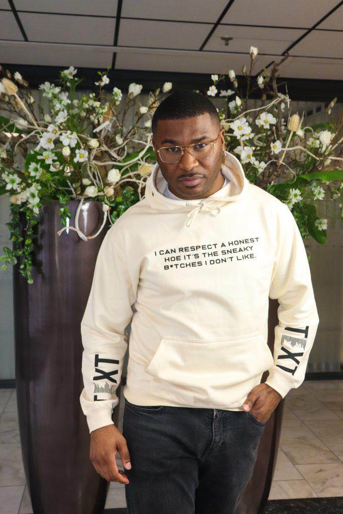 T shirt met tekst